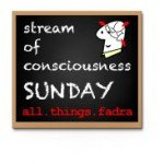 Stream of Consciousness Sunday: Clearing the Clutter