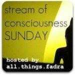 Stream of Consciousness Sunday: Anonymous Blogging..