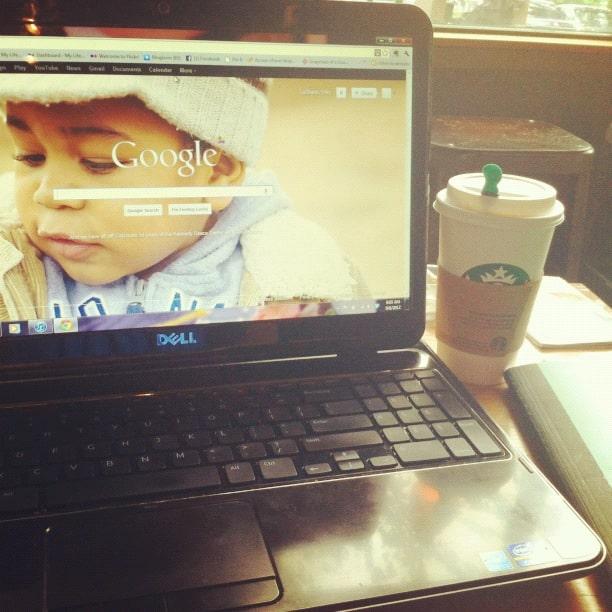 Nablopomo Day 12: Inspiration at Starbucks?