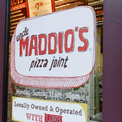 Gluten Free Review: Uncle Maddio's Pizza