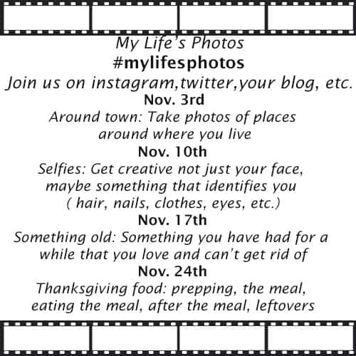 My Life's Photos Challenge: November