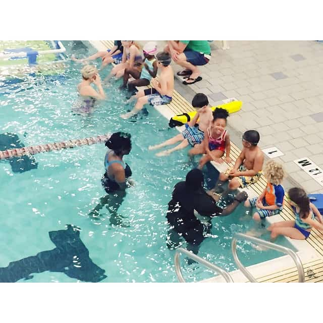 109|365 so it begins. Pookah's very first swimming lesson. #m4hp365…