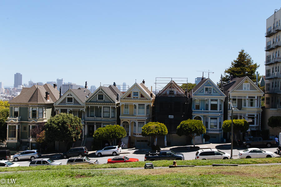 SAN FRANCISCO, THE PAITNTED LADIES