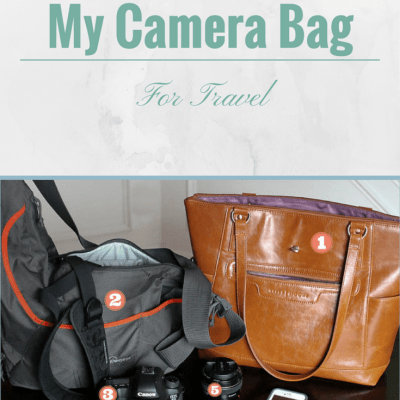 What's in My Camera Bag for Travel