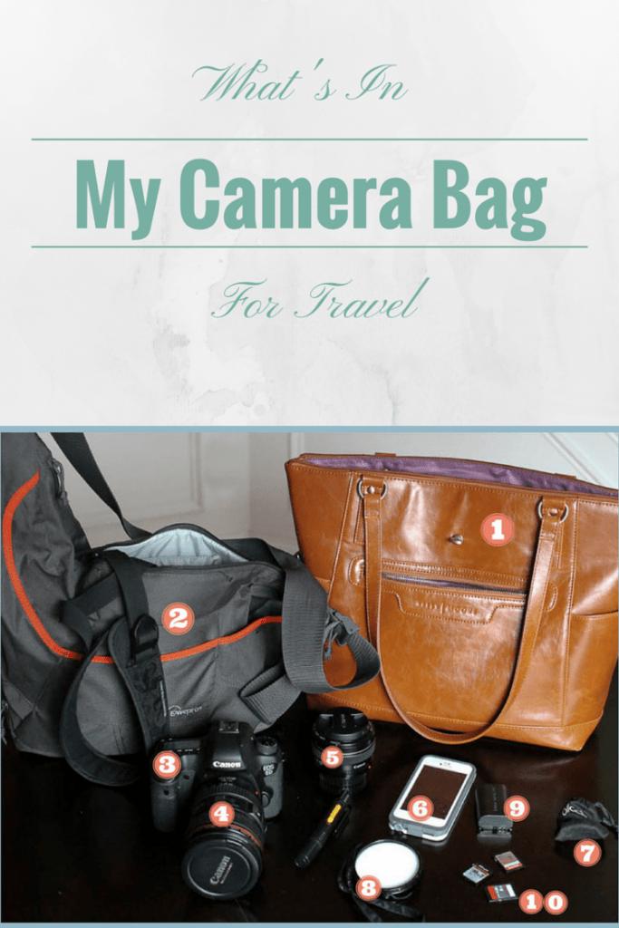 camera bag for travel