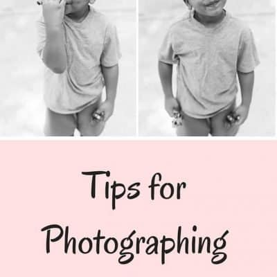 Tips for Photographing Your Toddler
