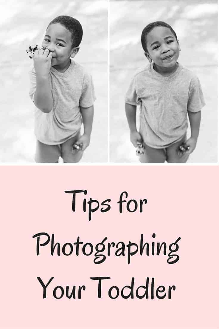 Taking photos of your toddler can be daunting, but here are a few tips for photographing your toddler!
