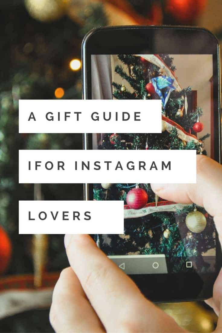 Looking for great gifts for Instagram lovers our there? Check out this great list of holiday gifts to give this season for the photographer and instagram lover in your life!
