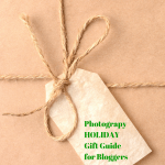 Photography Holiday Gift Guides: For Bloggers