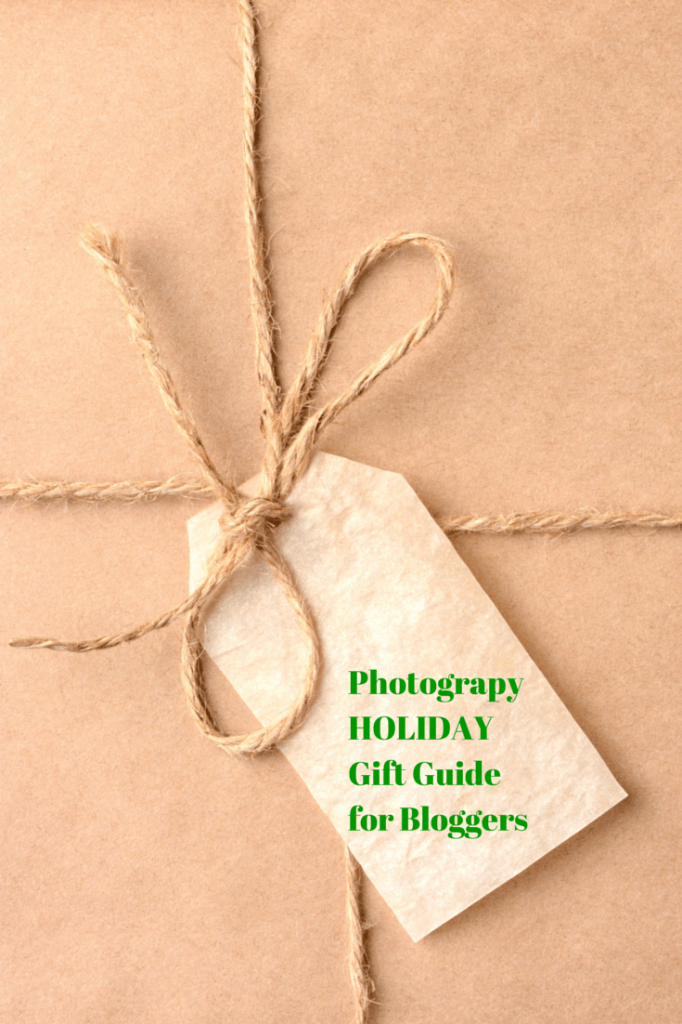 Photography Holiday Gift Guide for Bloggers