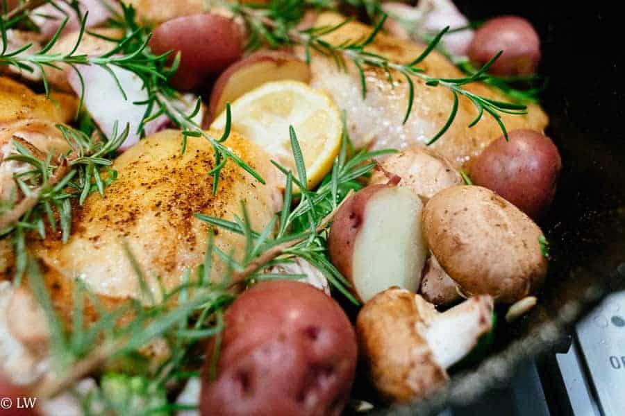 Gluten free chicken one pot meal