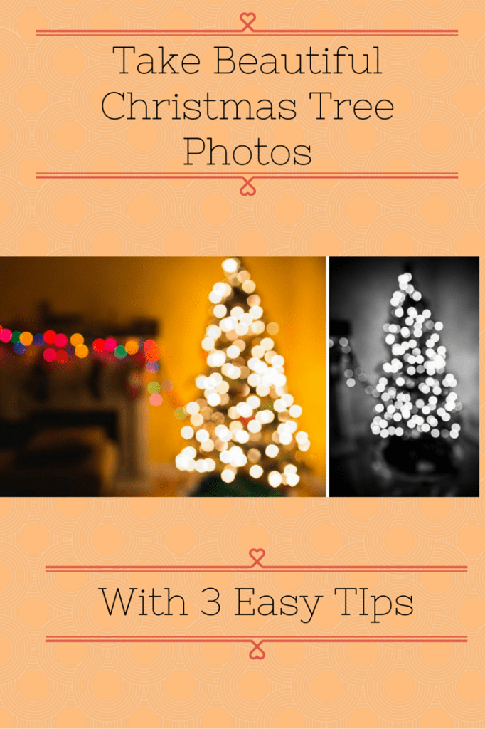 christmas tree photos with 3 easy tips