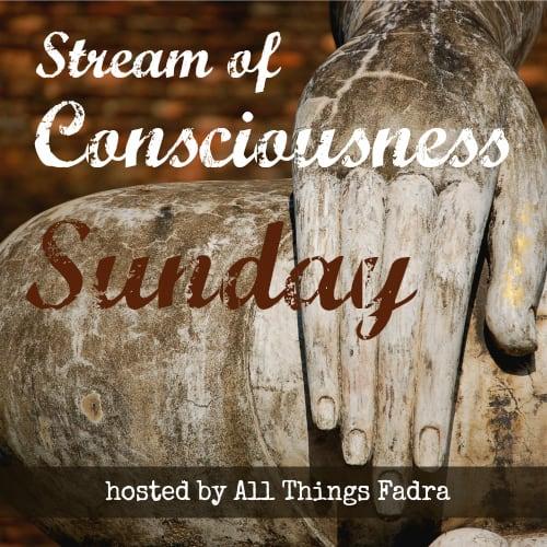 Stream of Consciousness Sunday . Hosted by Allthingsfadra.com
