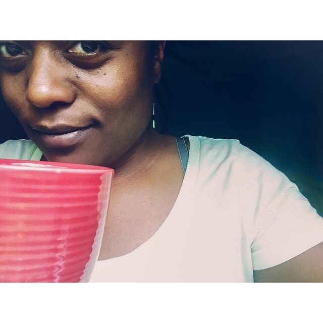 {selfie} so I am FINALLY getting my first cup of…