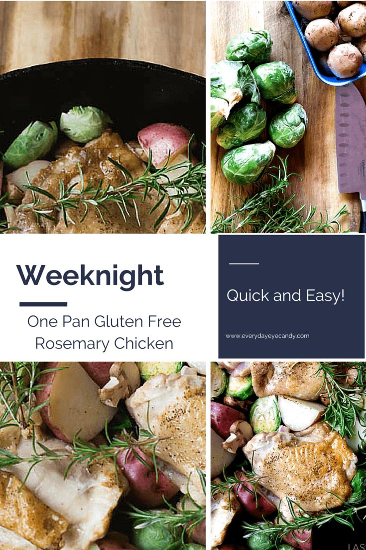 one pan gluten free rosemary chicken