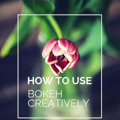 How to use Bokeh Creatively