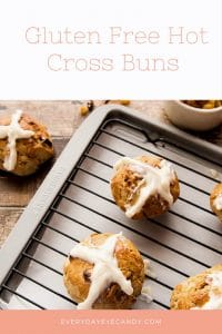 Easter is coming and it's time to do that easter baking. Check out this easy recipe for Gluten Free Hot Cross Buns.