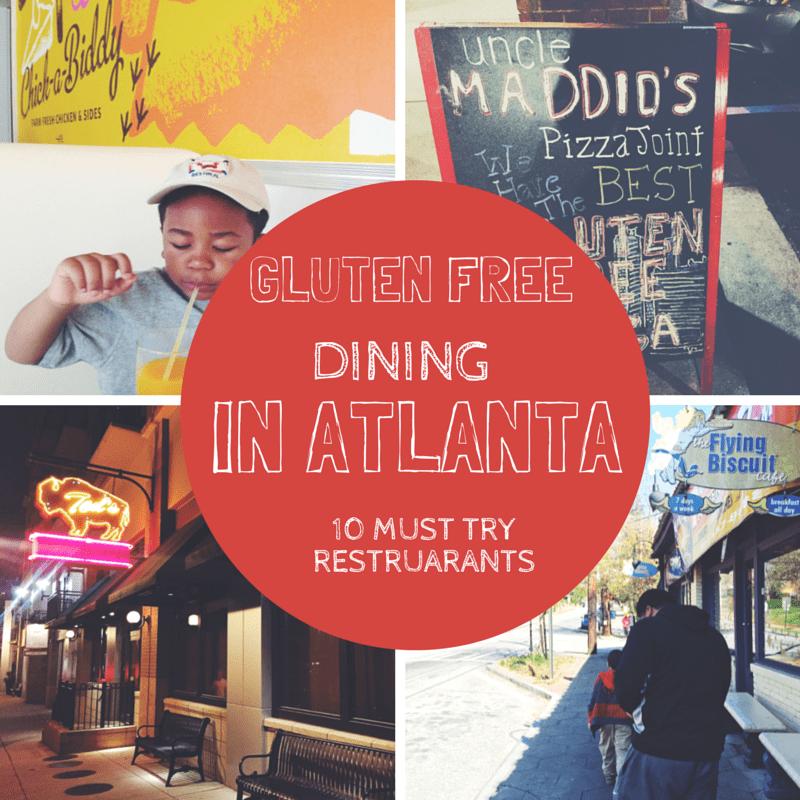 Gluten Free Dining In Atlatna