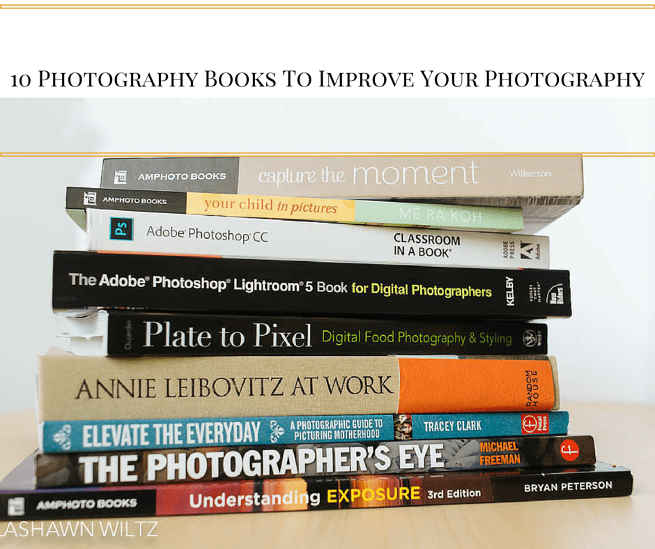 10 photography books to improve your photography