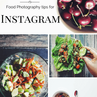 3 food photography tips for instagram
