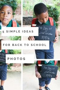 It's time to go Back To School and we want to takes photos of those memories. Check out these 5 simple back to school photo tips and ideas that will help you get amazing Back to School Photos