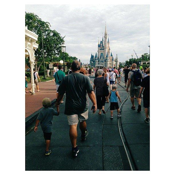 Iphoneography at Disney World Magic Kigdom