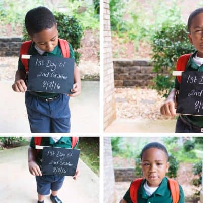 Top 5 Ideas for Back to School Photos