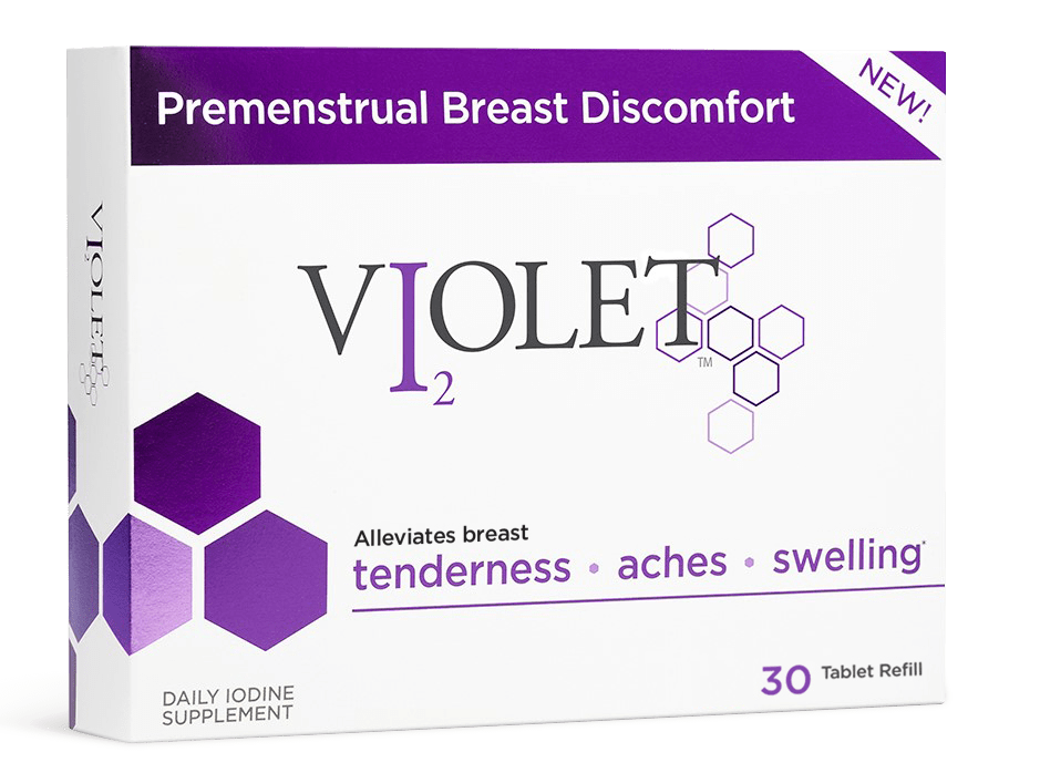 Breast Pain is not Normal, try out new Violet Iodine