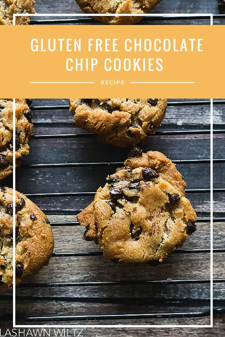 These easy gluten free chocolate chip cookies were so good and so easy to make using Pamela's baking mix.