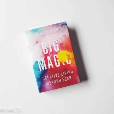 I'm currently reading Big Magic by Elizabeth Gilbert