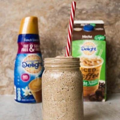 My Favorite On the Go Skinny Mocha Coffee Smoothie