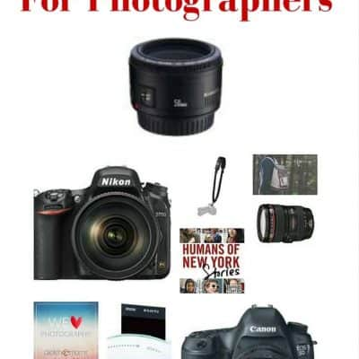 The Ultimate Holiday Gift Guide for Photography Lovers