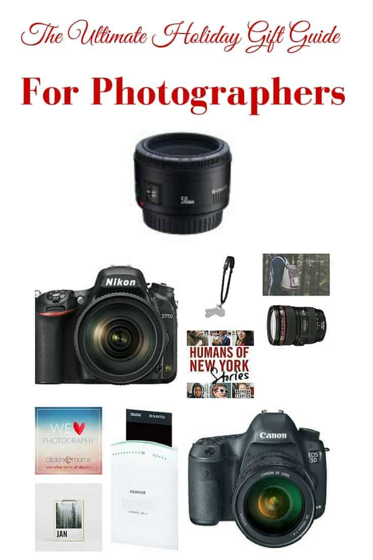 The Ultimate Holiday gift guide for the Photographer in your life..or even yourself! I know there are a few things on this list that I will ask Santa for!