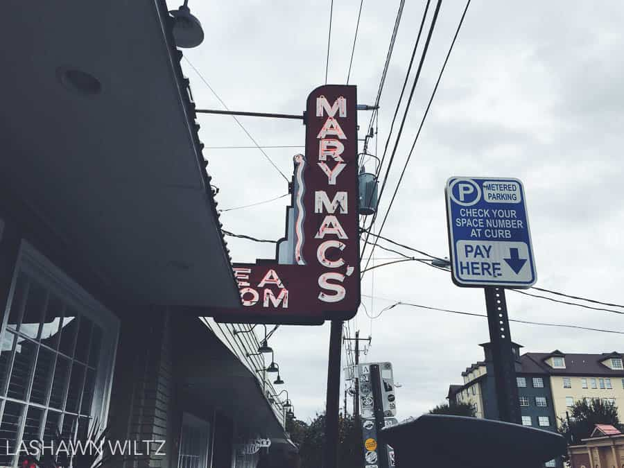 This saturday, we went to Mary Macs in Atlanta for lunch