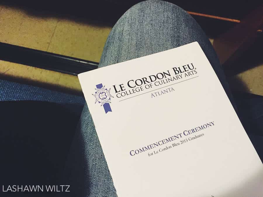 Even though it was raining, we had a busy Saturday, including a graduation for my sis in law at Le Cordon Bleu