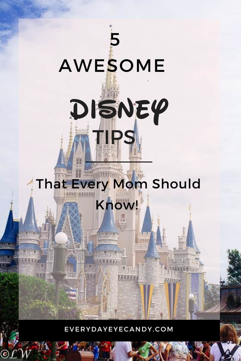Headed to DisneyWorld for a family vacation? Check out these 5 awesome Disney tips for moms #disneytips #disney #disneyworld #familytravel