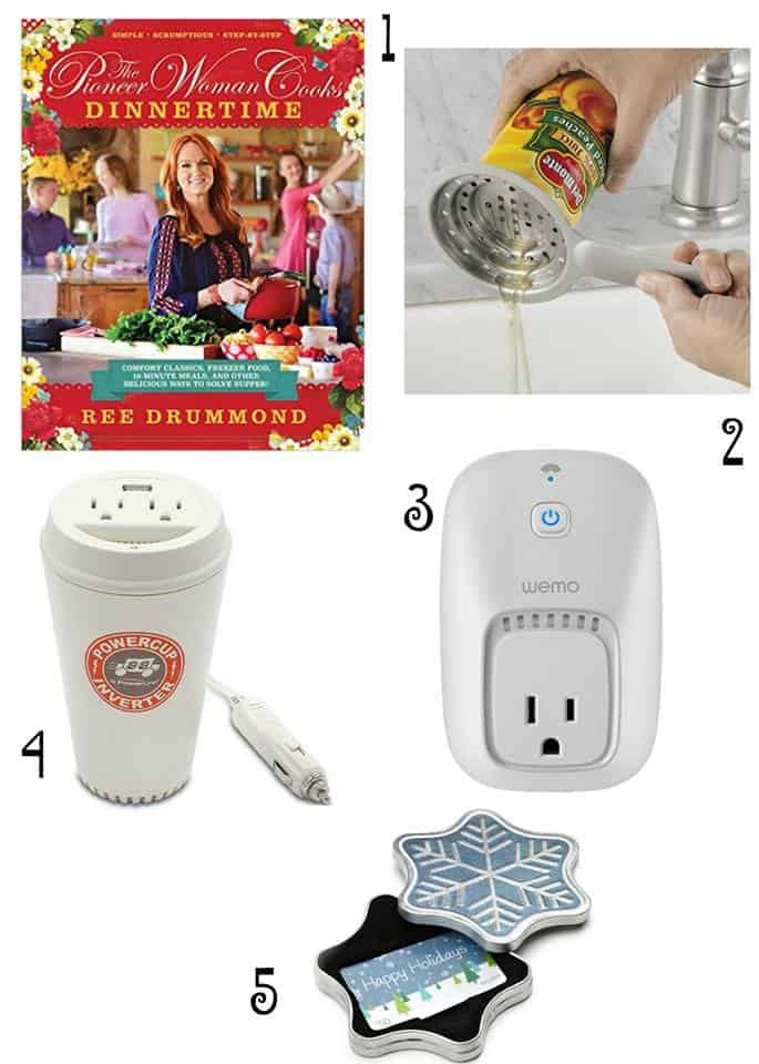 Looking for great gifts under $50? Check out Kita's Christmas gift list