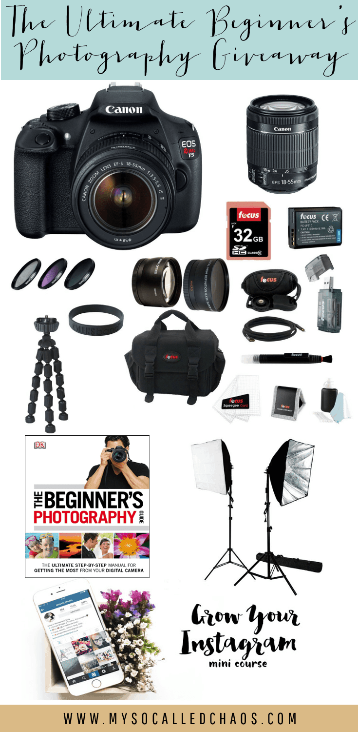 Ultimate Photography giveaway!