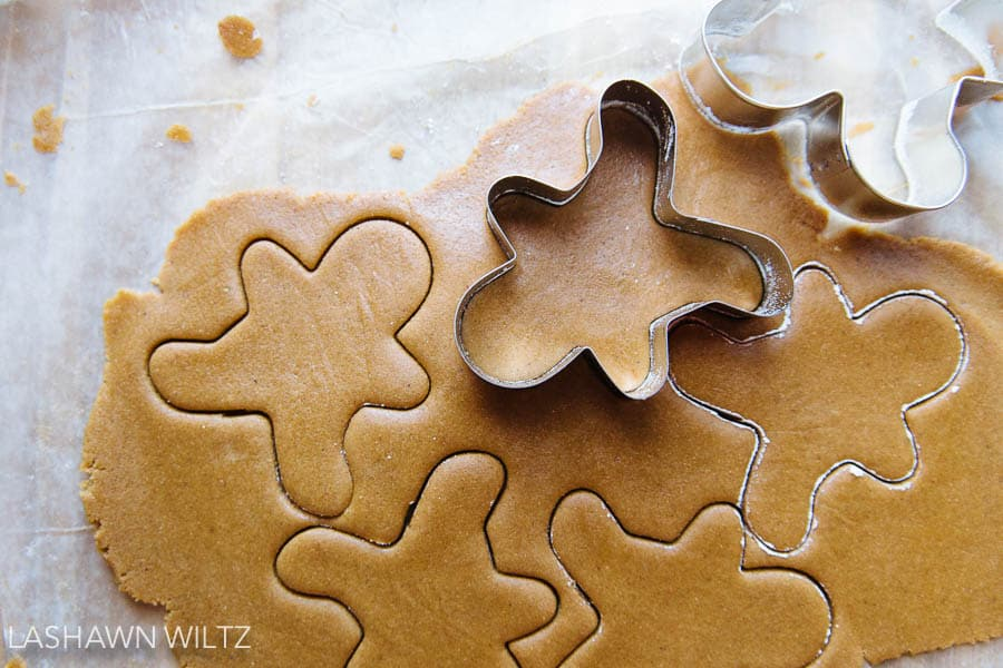I made gluten free gingerbread men, recipe will be up next week.