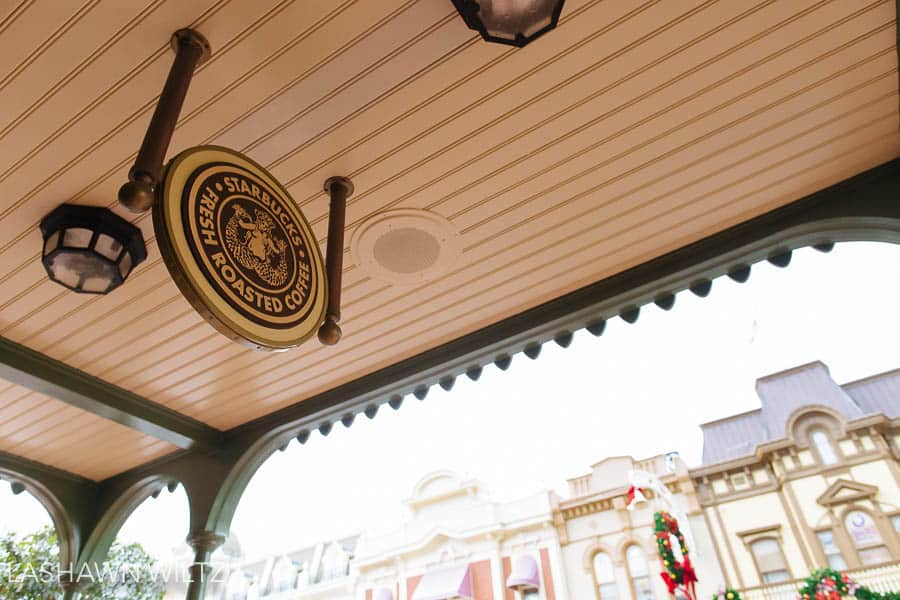 And don't forget that you can use your disney dining plan snack credits for Starbucks coffee