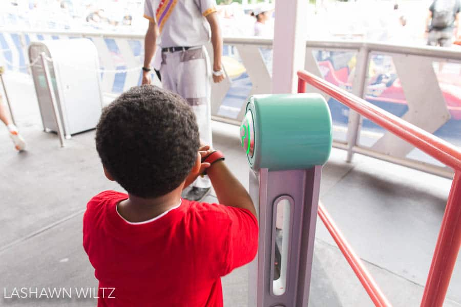 One of my best tips for Disney is to get the Fast Pass!