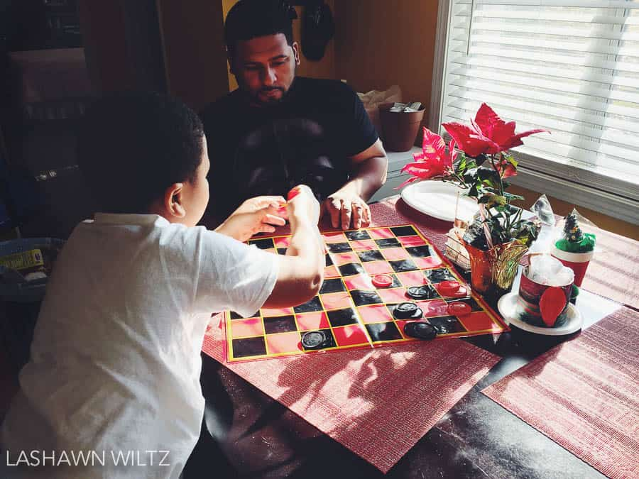 saturday game of checkers