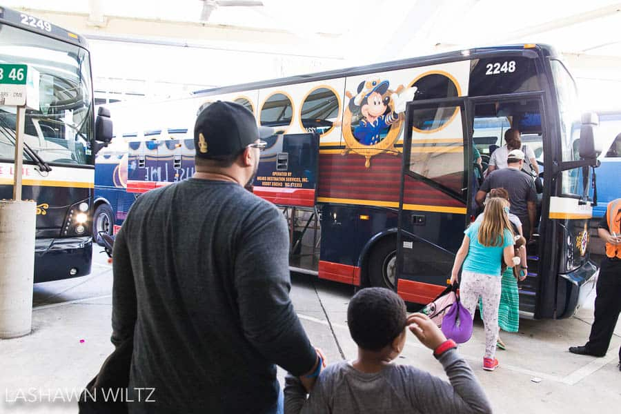 My first tip for Disney to to stay on Property. One of the main reasons is the transportation on Disney Magical Express