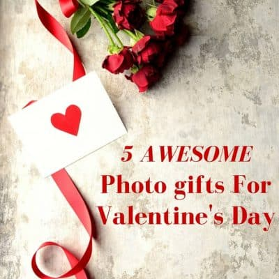 5 Awesome Photo Gifts for Valentine's Day