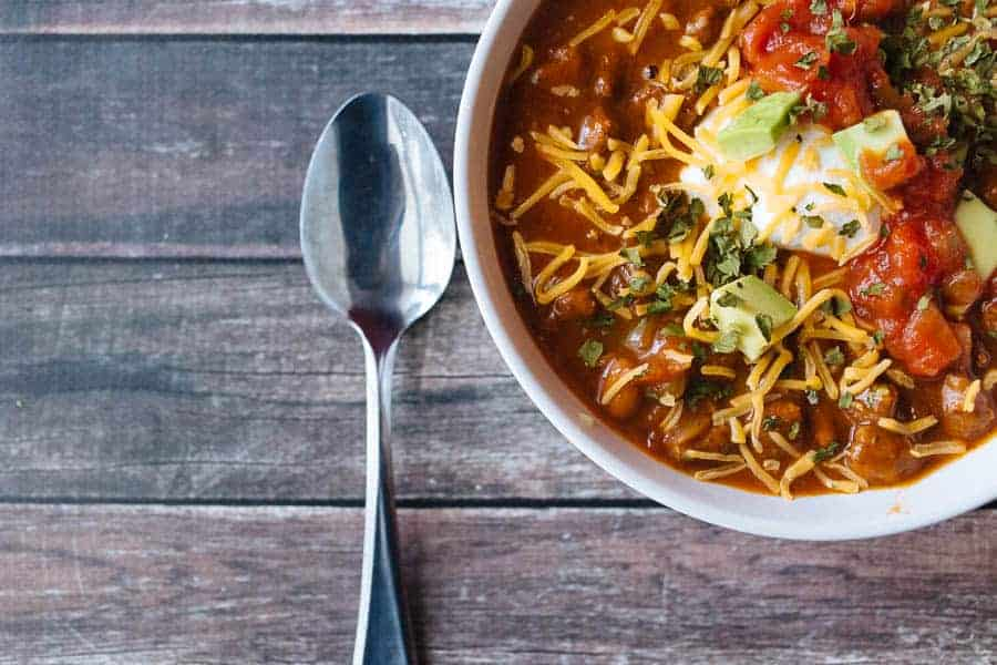 easy chili recipe for a cold day