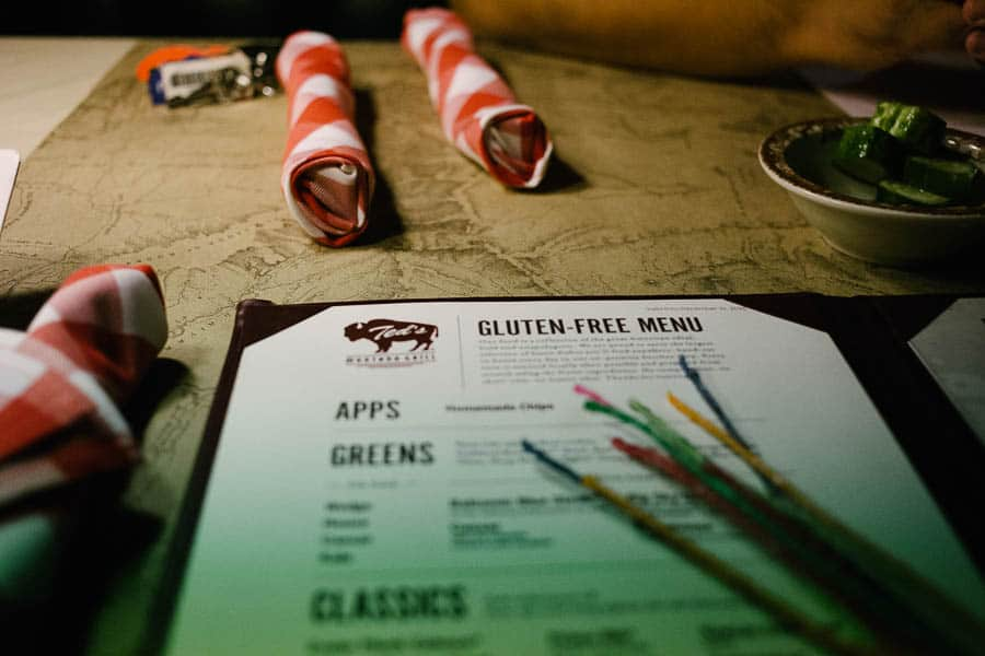 eat gluten free in atlanta One of our favorite places to eat is at Ted's Montana Grill! It's one of our favorite spots here in Atlanta.