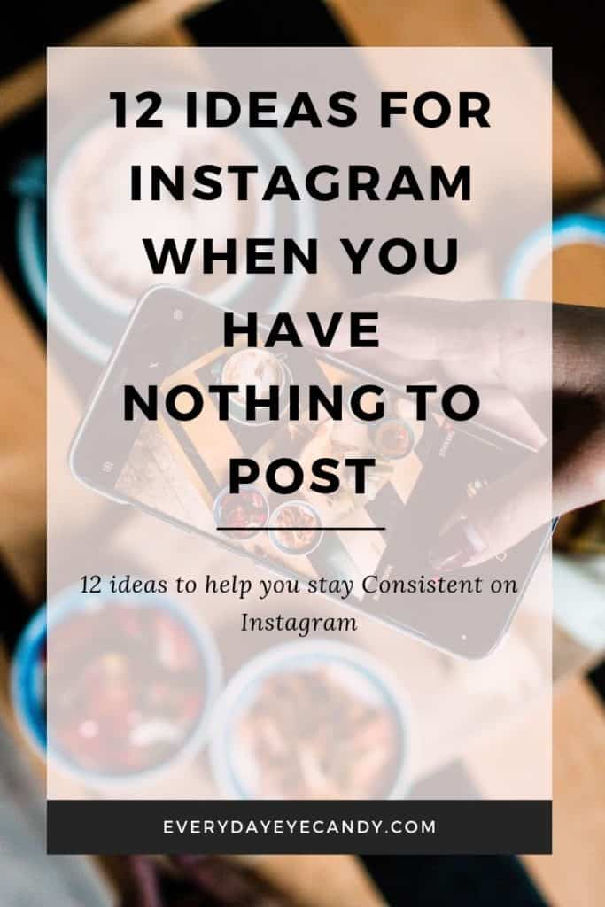 12 ideas for instagram