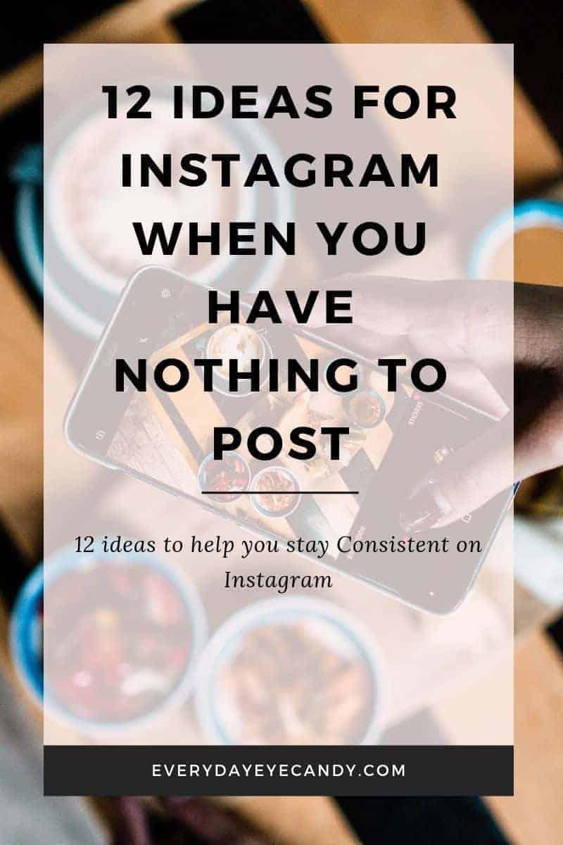12 Easy Photo ideas for Instagram