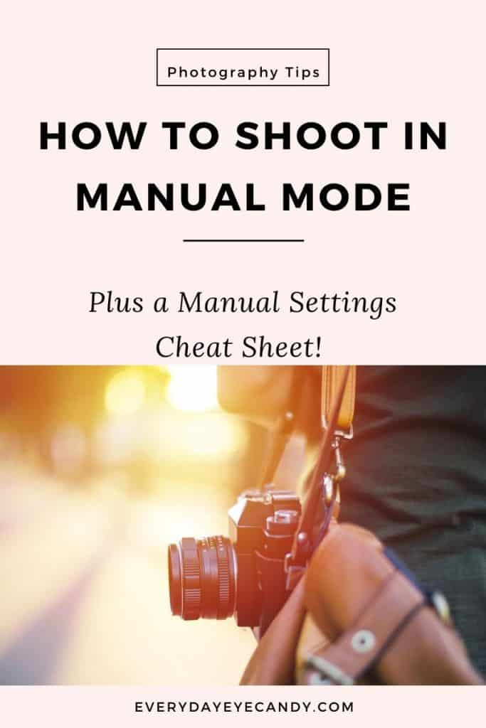 shoot in manual mode