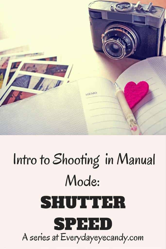 Shutter speed is one of the most important aspects of the exposure triangle. In this intro to shooting in manual mode, today we are discussing SHUTTER SPEED and how it affects exposure.